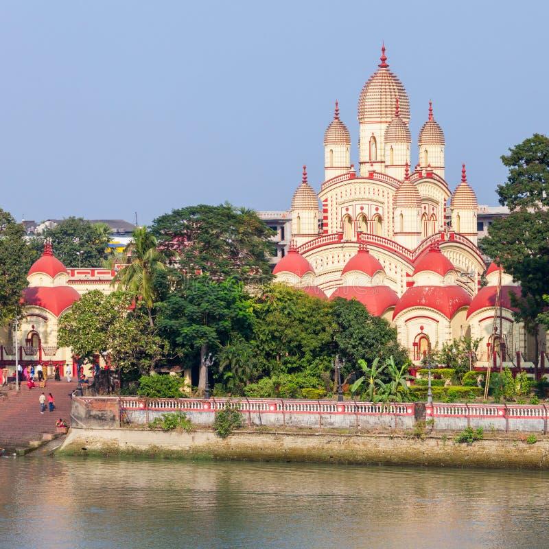 Dakshineswar卡利市寺庙 免版税图库摄影