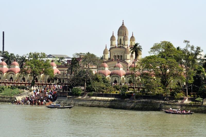 Dakshineswar Kali świątynia, Kolkata, India zdjęcia stock