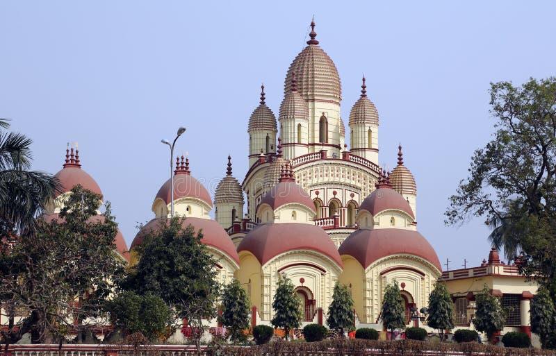 Dakshineswar Kali Temple em Kolkata imagem de stock royalty free