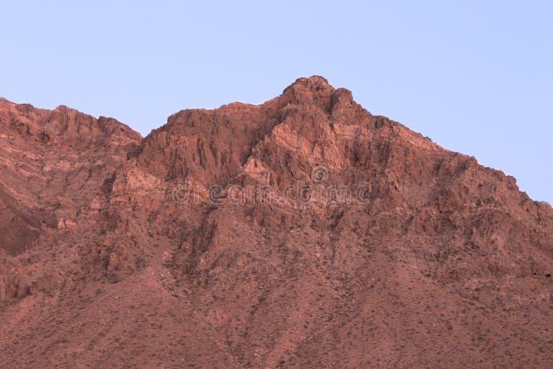 Dal av branddelstatsparken Nevada fotografering för bildbyråer
