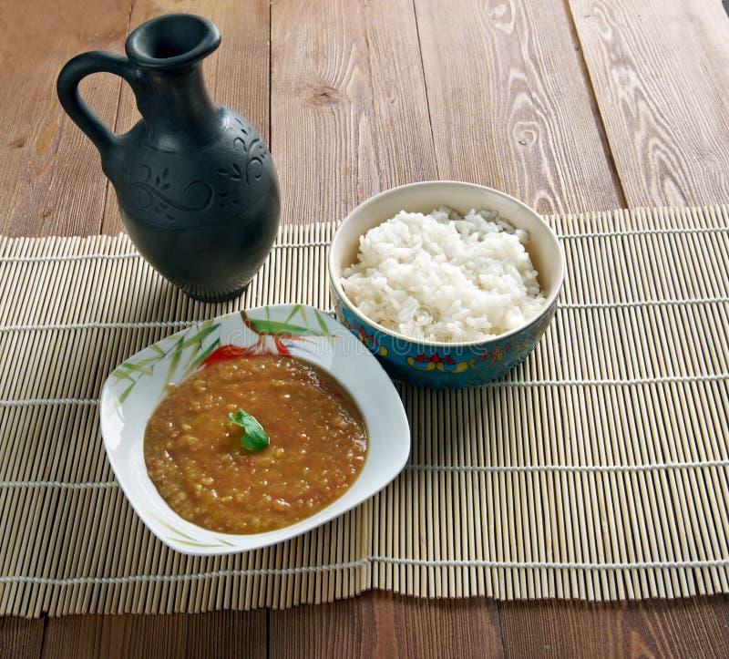 Download Dal Bhat imagen de archivo. Imagen de curry, arroz, nepal - 64209549