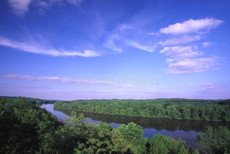 dal för illinois flodrock arkivfoton