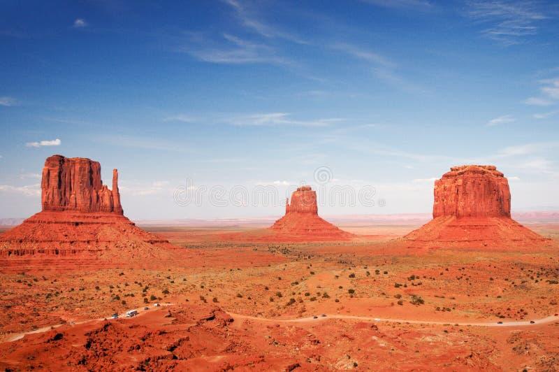 dal för monument för arizona mest forrest gumpkull royaltyfria foton