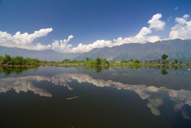 Dal jezioro obrazy royalty free