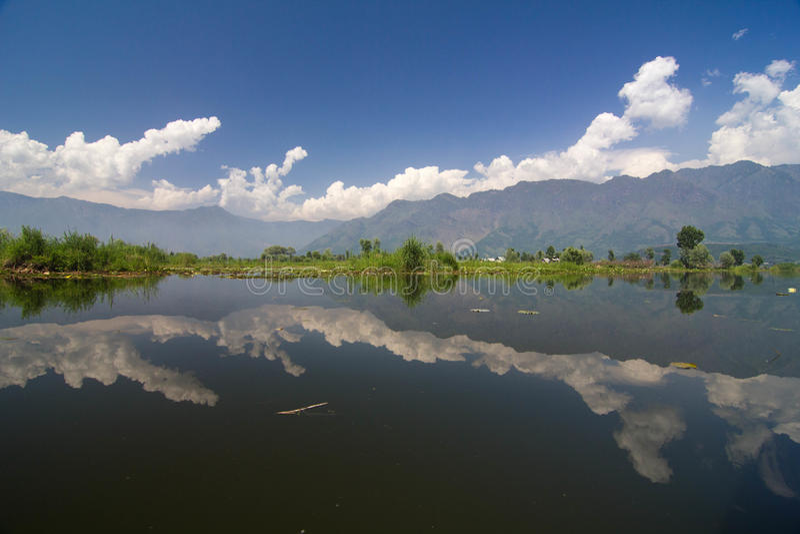 Dal Lake immagini stock libere da diritti