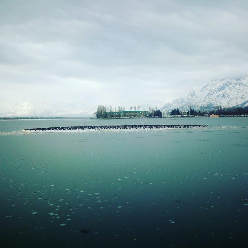 Dal Lake royaltyfria foton
