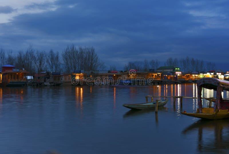 Dal Lake del Kashmir fotografie stock