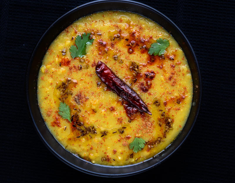 Dal tadka royalty free stock image