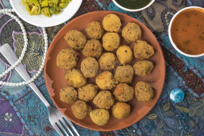 Dal Vada. Indian Street Food Dal Vada stock photography