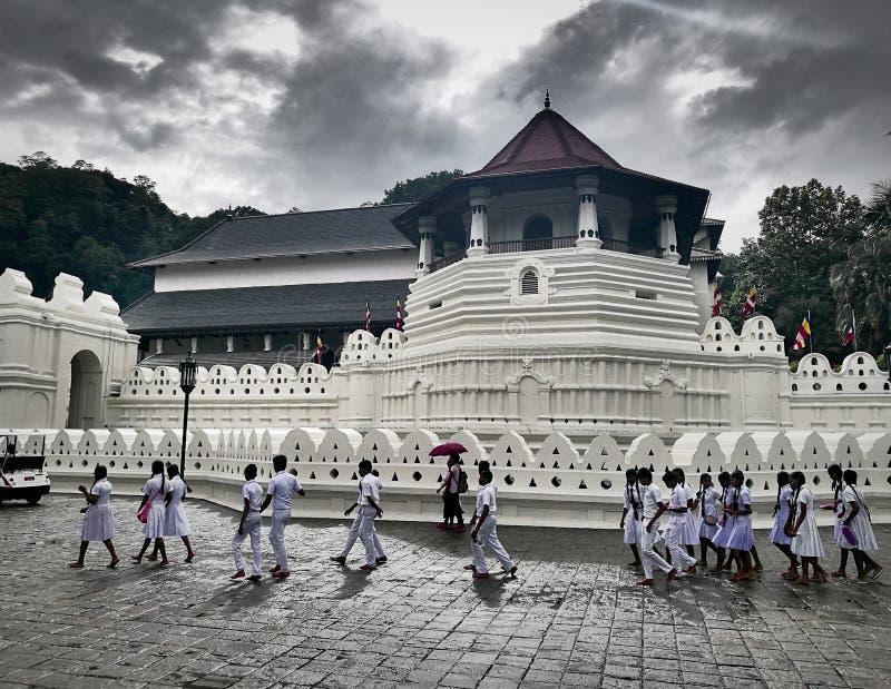 Dalada Maligawa,康提,斯里兰卡 库存图片