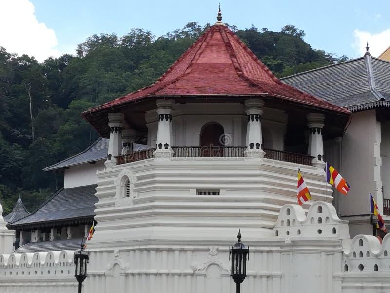Dalada Maligawa Temple of the relic tooth royalty free stock photo