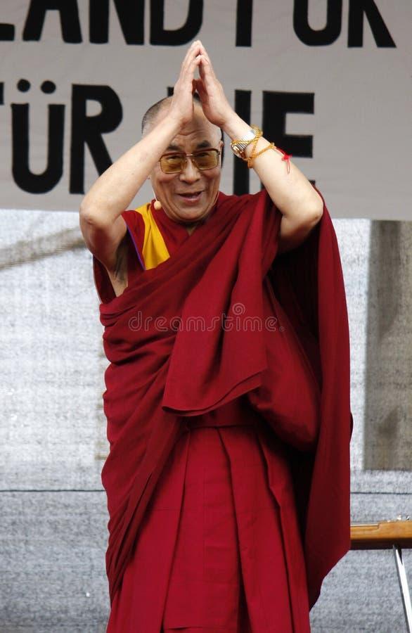 Dalai Lama stockbild