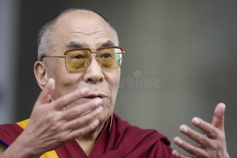 Dalai Lama Editorial Photography