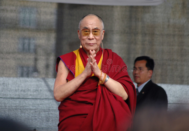 Dalai Lama stock foto's