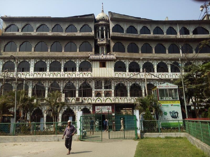 Dalan Bestes Puran Dhaka Hussain lizenzfreies stockbild