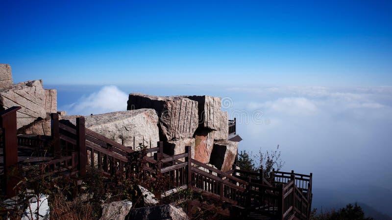 Dalao berg royaltyfri fotografi