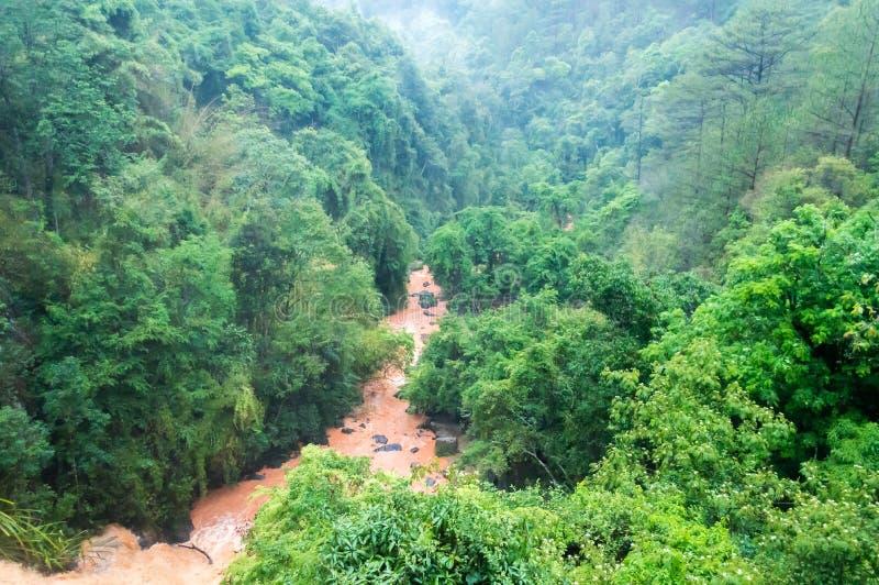 Dalat, городок Вьетнама в горах стоковое фото rf