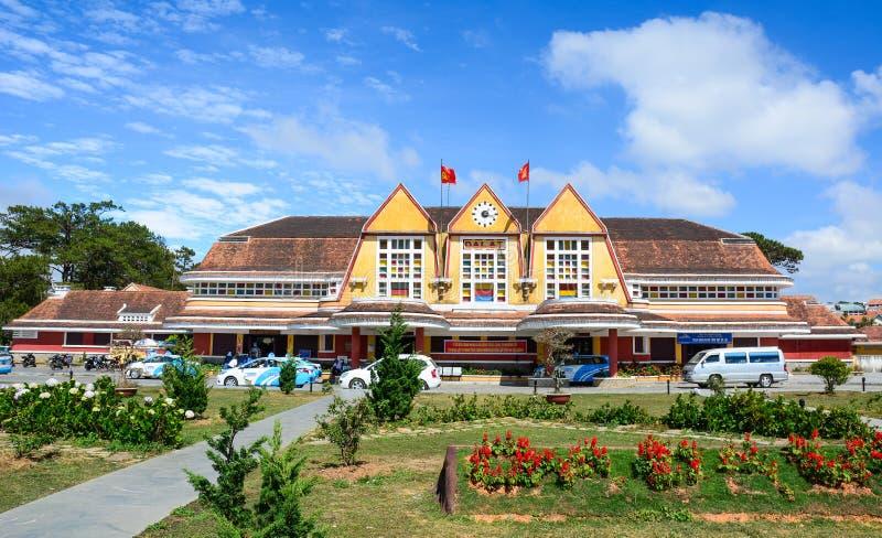 Παλαιός σιδηροδρομικός σταθμός σε Dalat, Βιετνάμ στοκ φωτογραφίες με δικαίωμα ελεύθερης χρήσης