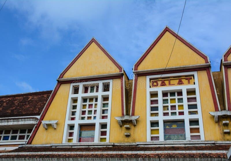 Dalat railway station royalty free stock photo