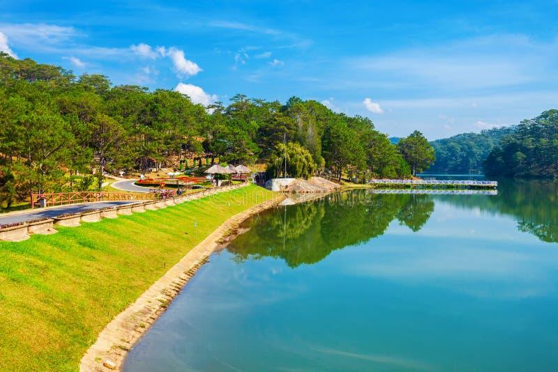 Valley of Love park, Dalat royalty free stock photography