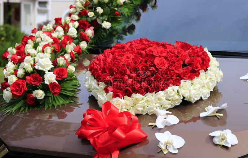 Dalat vietnam may 30 2016 wedding decoration of flowers in car download dalat vietnam may 30 2016 wedding decoration of flowers in car junglespirit Gallery