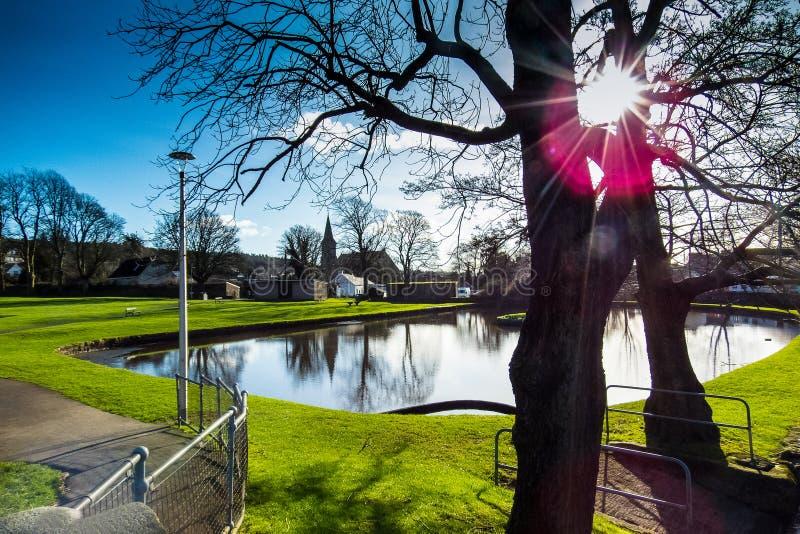 Dalbeattie, Dumfries e Galloway, Escócia foto de stock royalty free