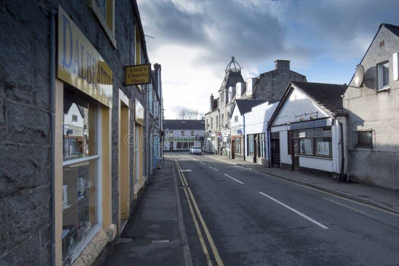 Dalbeattie, Dumfries en Galloway, Schotland royalty-vrije stock afbeeldingen