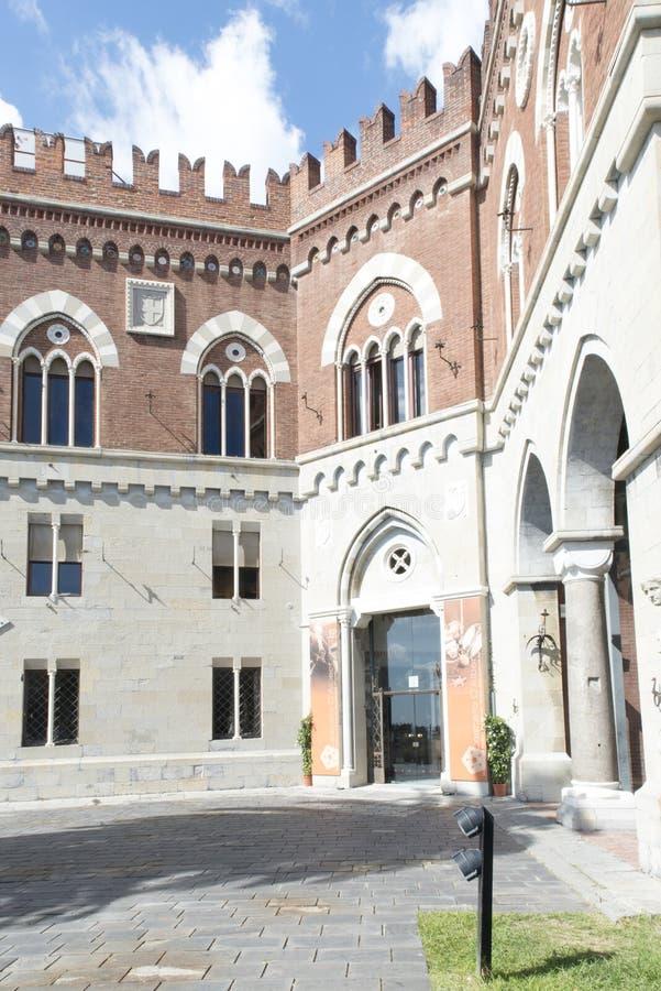 DAlbertis Castle, Genova, Italy royalty free stock images