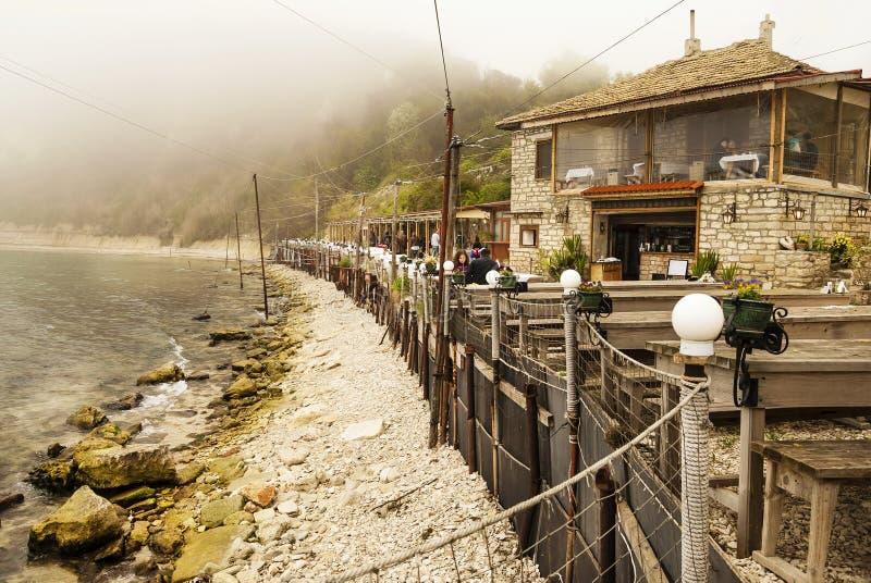 Dalboka - ferme de palourde et restaurant, Bulgarie photo libre de droits