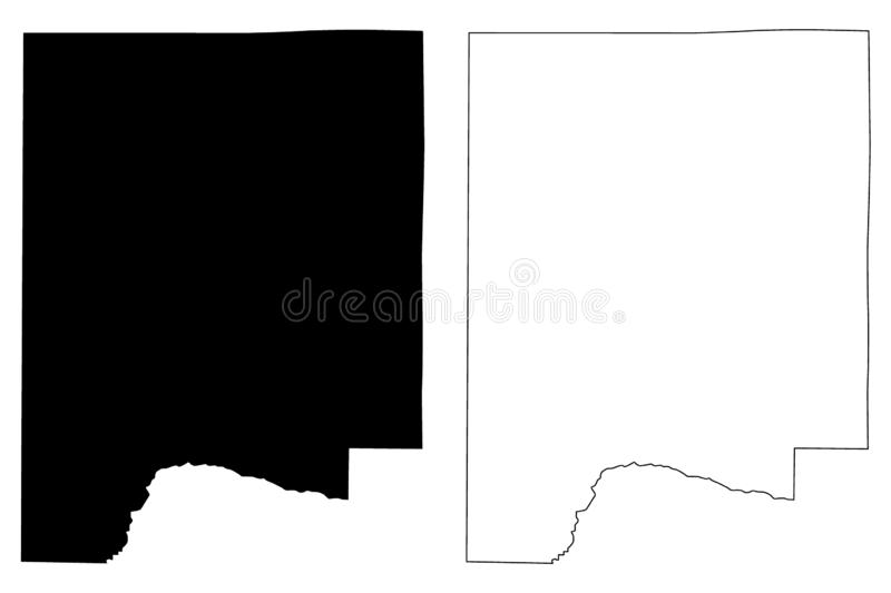 Dale County, Alabama Counties in Alabama, United States of America,USA, U.S., US map vector illustration, scribble sketch Dale. Map vector illustration