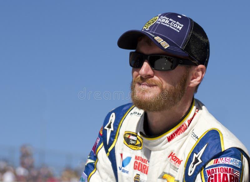 Dale Earnhardt, júnior, motorista do copo da sprint de NASCAR fotos de stock