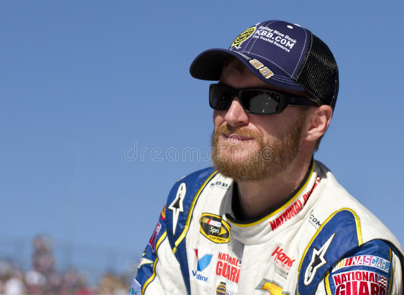 Dale Earnhardt, Jr, NASCAR Sprint Cup Driver stock photos