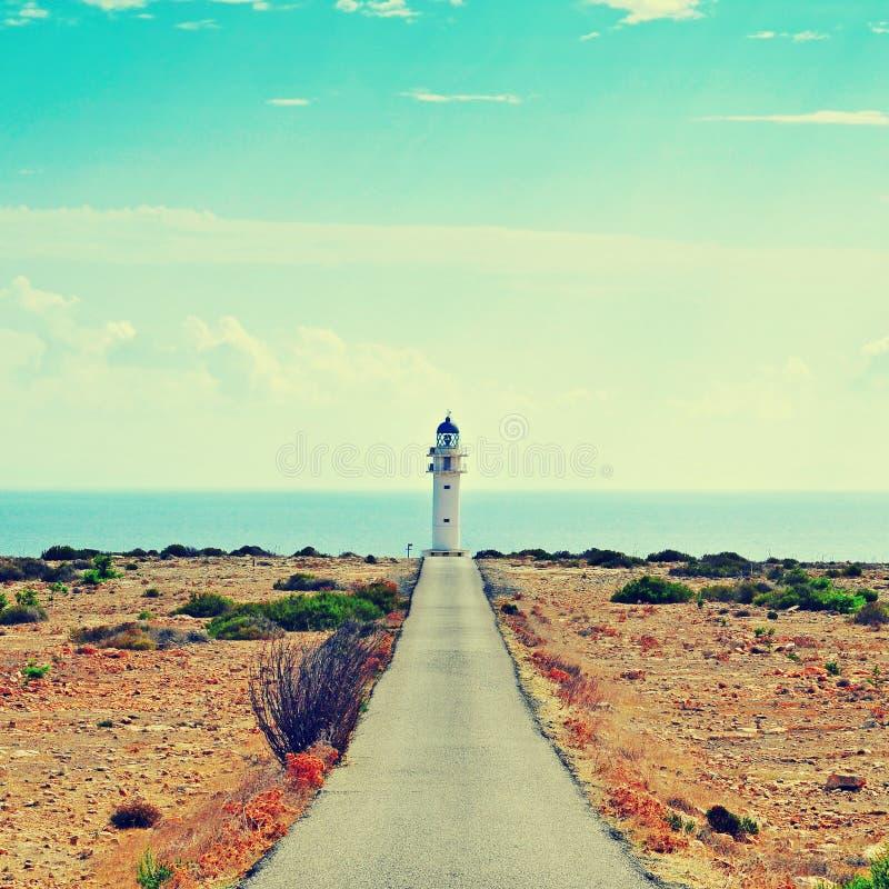 Daleki De Barbaria w Formentera, Balearic wyspy, Hiszpania obraz royalty free
