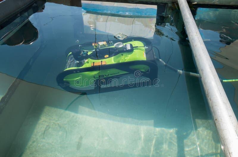 Daleko Działający Podwodny pojazd LBV 200-2 przedstawiający na mili zdjęcie royalty free