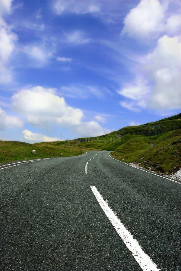 daleko road zdjęcia stock