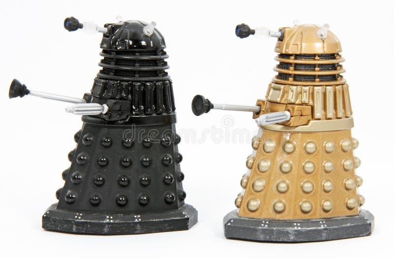 Daleks - roei uit stock afbeeldingen