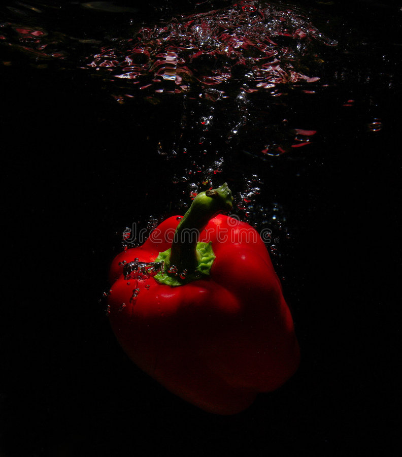 Dalend fruit royalty-vrije stock afbeelding