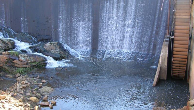 Dalend water royalty-vrije stock foto