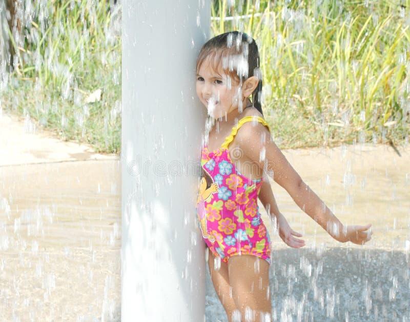 Dalend Water stock foto