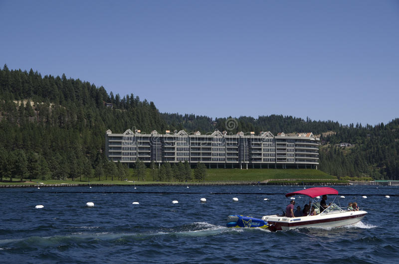 DAlene Айдахо Coeur озера около Spokane Вашингтона стоковые изображения