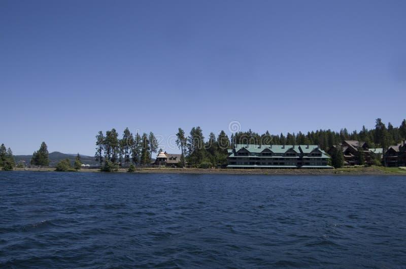 DAlene Idaho de Coeur do lago perto de Spokane Washington fotos de stock