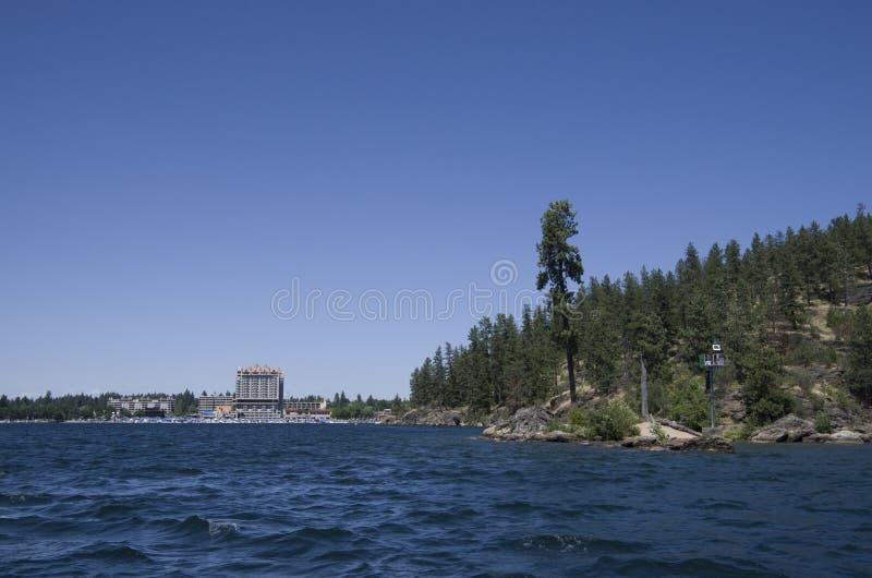 DAlene Idaho di Coeur del lago vicino a Spokane Washington immagini stock libere da diritti
