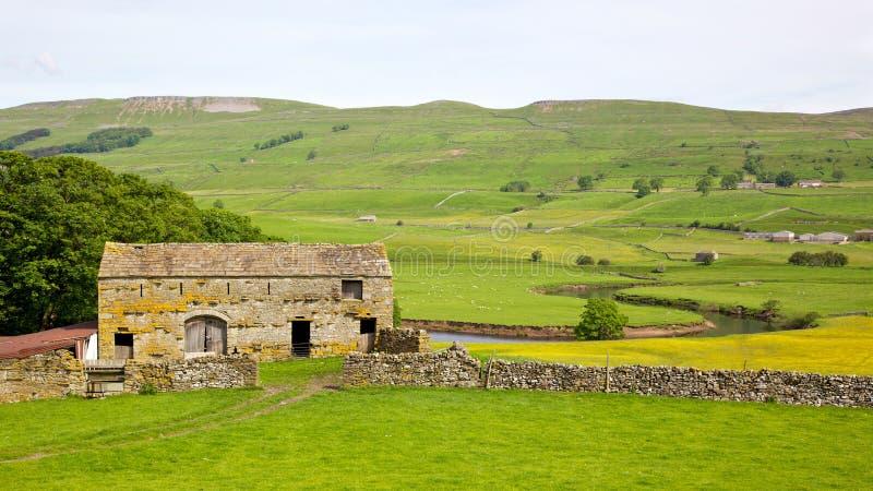 Dales de Yorkshire foto de stock royalty free