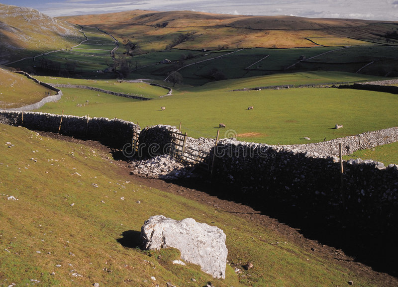Dales de Yorkshire foto de stock
