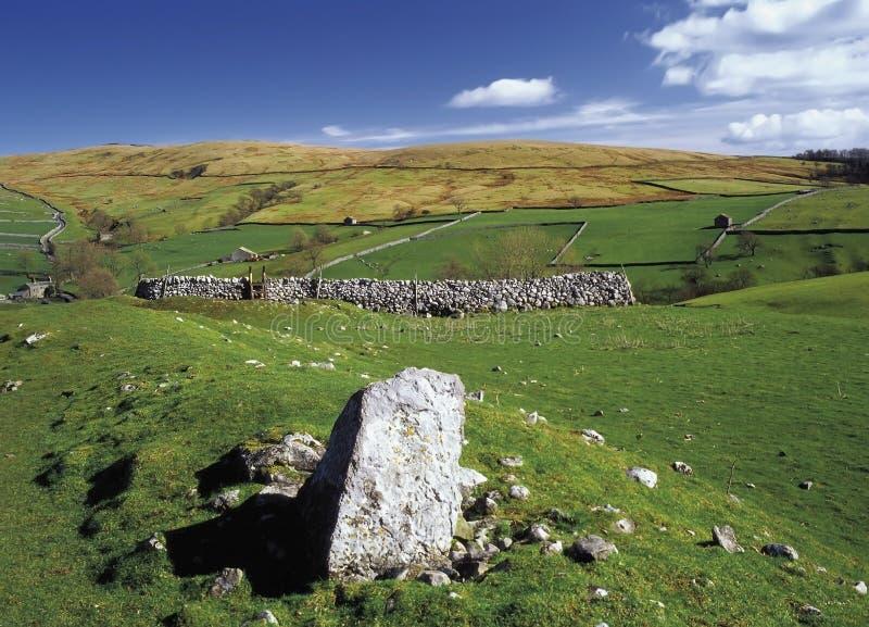 Dales de Yorkshire imagens de stock royalty free