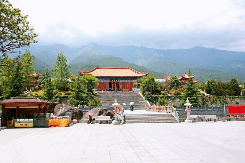 Dali Chongsheng Temple royaltyfri bild
