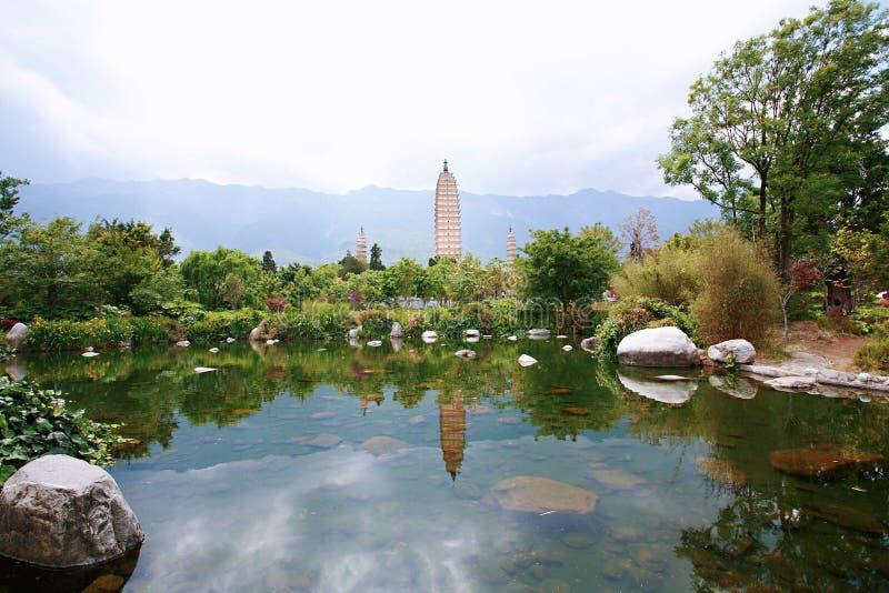 Dali Chongsheng Temple arkivfoton