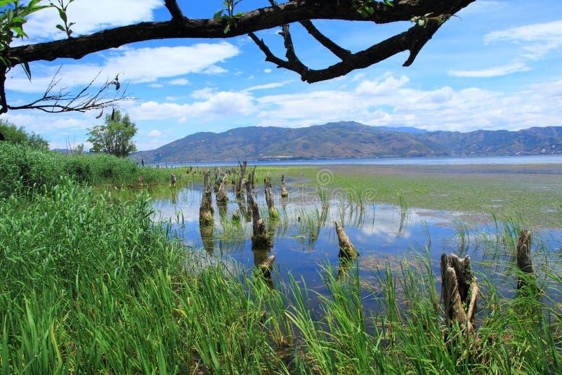 Dali Erhai Lake arkivbilder
