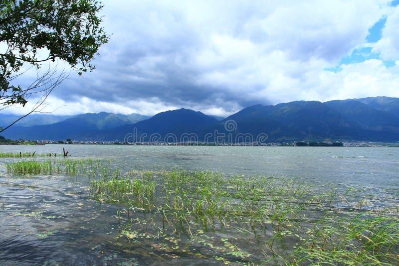 Dali Erhai Lake royaltyfria bilder