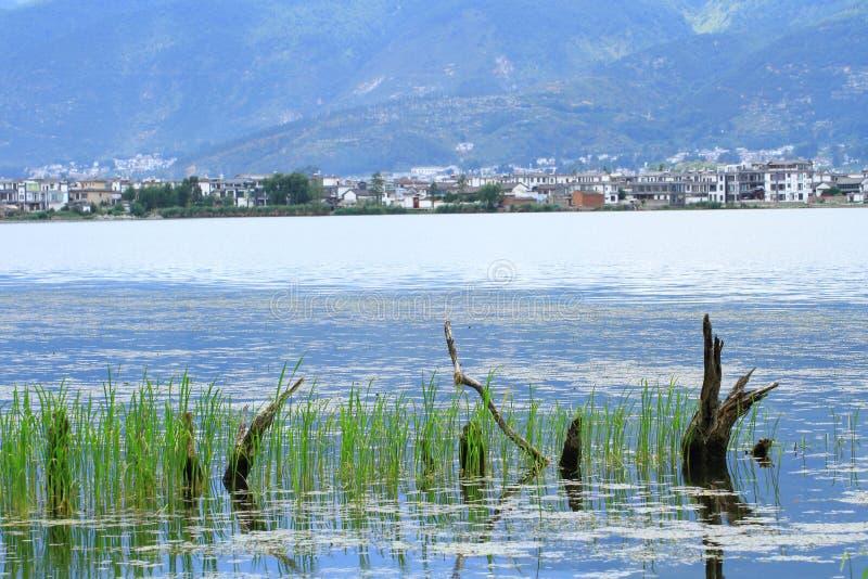 Dali Erhai Lake arkivfoton